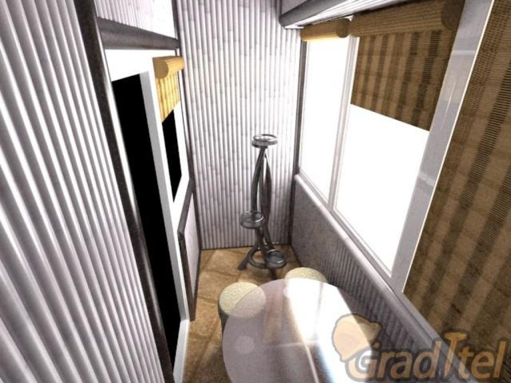 Бамбуковая лоджия, балкон - дизайны и интерьеры - поремонту..