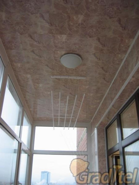 Чем утеплить потолок на балконе.
