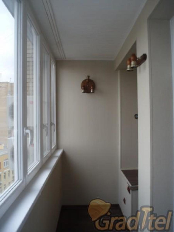Отделка,утепление балконов и лоджий под ключ..