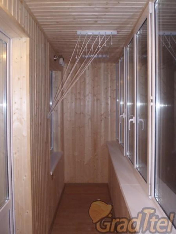 Обшивка внутренней части балкона частный мастер москва..