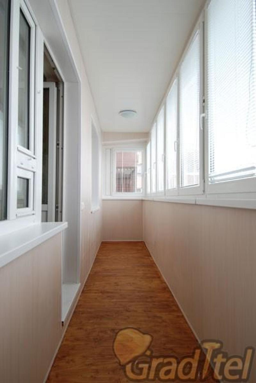 Внутренняя отделка балконов и лоджий под ключ.