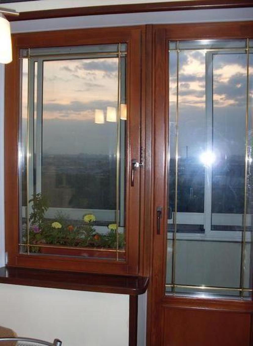 Окна с шпросами - eurokna.