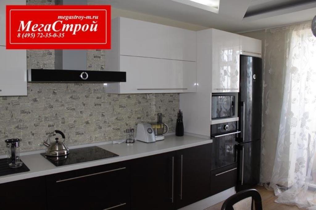 Черная кухня в квартире