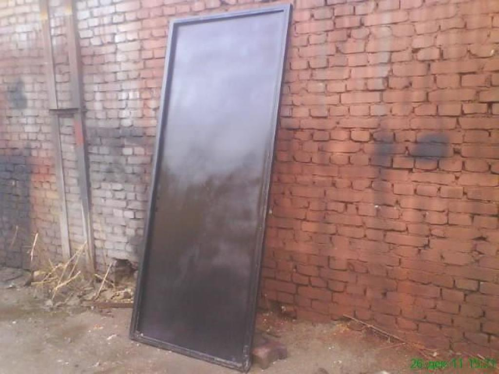 цены на металлические сварные двери